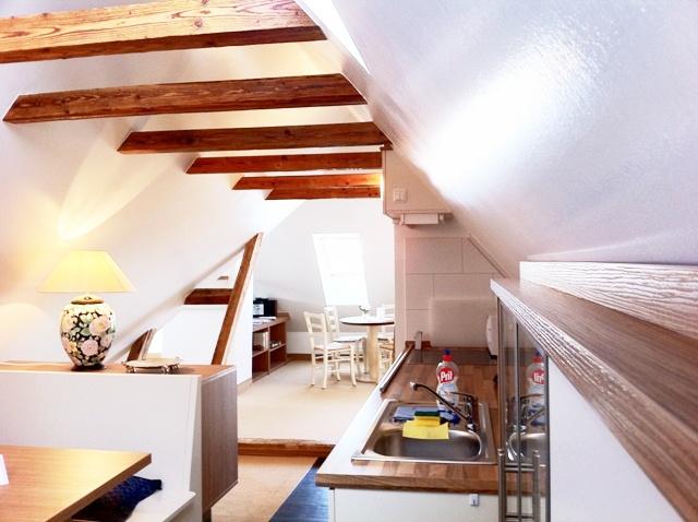 Dachgeschoss-Apartment im Damenpfad, Haus Wittdün